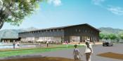 金田一に新温泉施設整備 来年秋開業へ、公民連携で集客図る