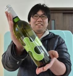 釜石、遠野両市産のブドウを使った新作ワイン