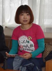 義援金総額1千万円を目指し日本一周の一人旅を始めた浜守栄子さん