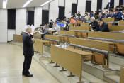 地方創生に学び深め 富士大で公開授業始まる