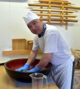 地産麺、こだわり評判 二戸市・春工房、昔ながらの手打ち