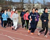 完走目指し技能アップ 盛岡シティマラソンへ初心者教室開始