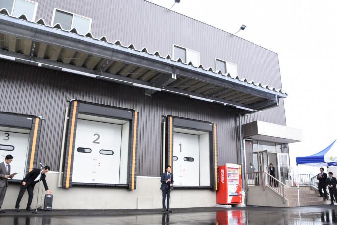 肉の横沢の新たな加工品生産の拠点として完成した新工場