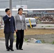 新天皇、皇后両陛下、本県沿岸を3度訪問 被災者に心寄せ