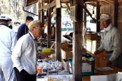 山菜や川魚、自然の恵み堪能 久慈・山根町の水車市
