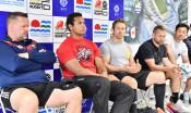 「世界中の人の力に」 ラグビーの世界スター、釜石訪問