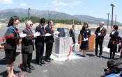 避難の大切さ後世に 陸前高田、有志ら市道に記念碑