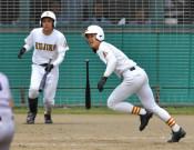 地元勢サヨナラ競演 春季高校野球県大会第3日