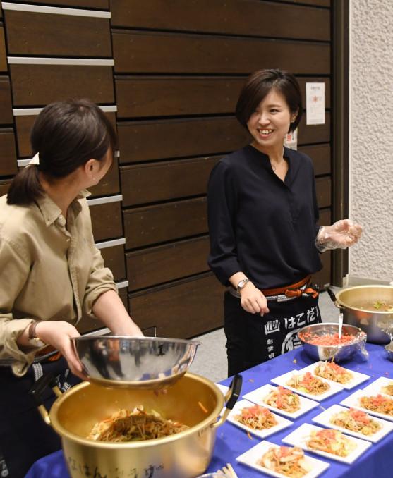シカやイノシシなどの肉を使った料理を提供した「花巻ジビエを楽しむ夕べ」