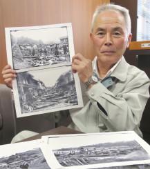 末崎仁平は祖先の一人と名乗り出た越喜来漁協の船砥秀市組合長=大船渡市