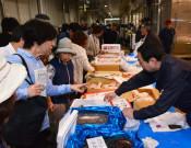 新鮮食材がお出迎え 盛岡・中央卸売市場で「開放デー」