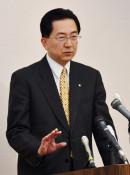 達増氏、4選出馬表明 知事選、4野党に推薦要請へ