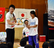 五輪選手と笑顔の交流 山田でJOCフェスタ