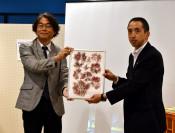 海藻標本 8年ぶり帰館 山田・鯨と海の科学館