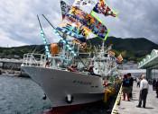 新鮮サンマ早く届けたい 大船渡・鎌田水産、公海漁へ出港