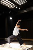 自由な身体表現、6日ダンス公演 盛岡でかとうさん