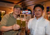 ホウレンソウビール好評 久慈市産が原料