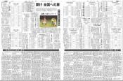 県中学校総体特集を掲載 岩手日報社