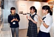命の重み 心に刻む 高校生平和大使、釜石で震災の教訓学ぶ