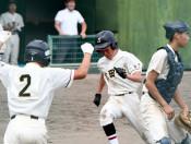 世田米・有住(住田)初V 県中学総体・軟式野球