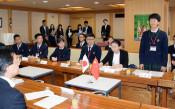 中国雲南の中学生 知事と懇談 被災地など訪問へ