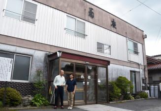 賢治も見た風景が望める菊慶旅館。8月下旬に解体される