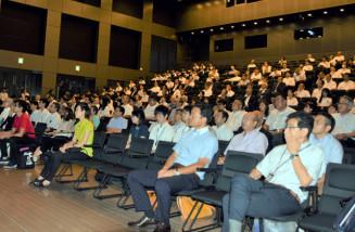 ILCを巡る経済効果やまちづくりについて理解を深める参加者