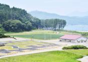 被災跡地に新たな観光拠点 釜石・根浜海岸施設オープン