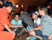 避難行動考え〝脱出〟目指せ 大槌で防災学習ゲーム