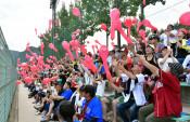 岩泉球場、熱い声援復活 イースタン楽天―巨人戦