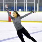 フィギュア坂本 盛岡で合宿 練習を公開