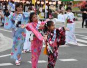 改元記念、初のまちなか盆踊り 陸前高田青年会議所