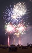 夜空華やか、6千発 八幡平ふるさと花火まつり