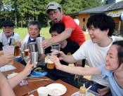 出来たてビールで乾杯 ベアレン醸造所、雫石工場を初公開