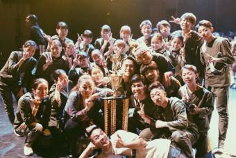 ヒップホップ世界準V 大崎さん(紫波出身)所属のダンスチーム