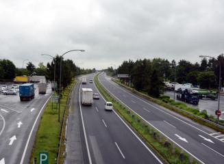 実施計画書でスマートICの設置位置とされた東北道花巻PA