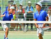 橋場・長根組(洋野・中野)5位 全中ソフトテニス男子