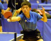 卓球男子、花巻5位 全国中学校体育大会