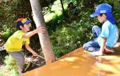 おいでよ「森の遊び場」 釜石・三陸駒舎が開設