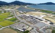 新生 高田松原の玄関22日開業 津波伝承館と道の駅、準備大詰め