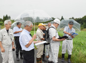 焼却施設 候補地7カ所に絞る 一関・選定委が現地調査
