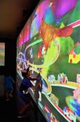 遊ぼうデジタル世界 釜石でチームラボ展開幕