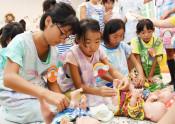 将来夢見て仕事体験 北上・児童450人が参加