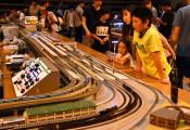大きな夢広がる、小さな鉄道模型 鉄道フェスタ、新型新幹線も
