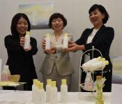肌しっとり「甘糀化粧水」 藤勇醸造ブランド、県内で先行販売