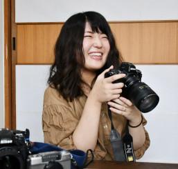 グランプリを受賞した豊川栞さん
