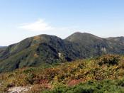 大荒沢岳(西和賀町)=9月27日