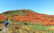 焼石岳(奥州市)~経塚山(北上市)=9月30日~10月1日