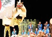 つながり育む 虎舞とりどり  釜石で第10回フェス、熊本からも