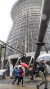 地熱施設の探検、大人もワクワク 八幡平市で「発電の日」ツアー